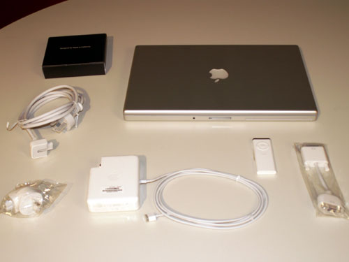 Macbook Pro: Everything in the box