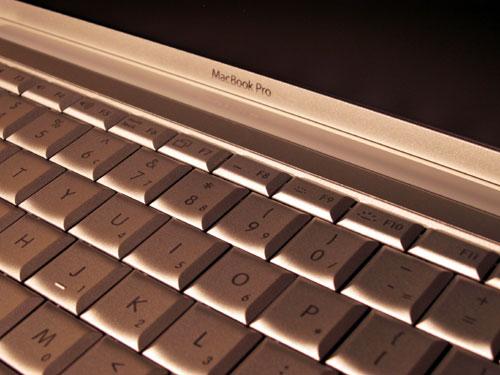 MacBook Pro: Backlit keyboard