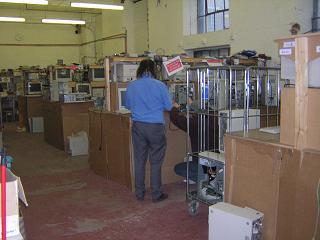 Computer Aid's refurbishing workshop