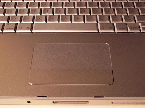 MacBook Pro: Scrolling Trackpad