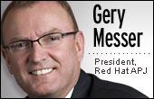 Gery Messer, Red Hat President APJ