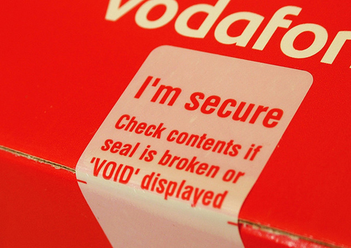 Vodafone services affected after Basingstoke break-in