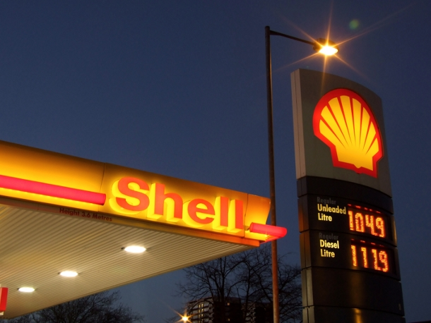 Shell Oil outsourcing