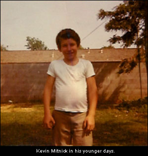 Young Kevin Mitnick