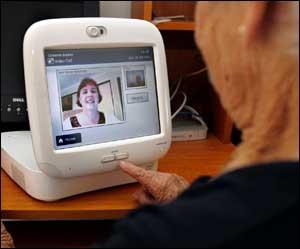 Nurse and patient video conferencing
