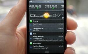iOS 5 screen