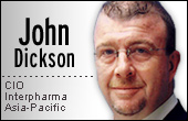 John Dickson, CIO of Interpharma Asia-Pacific