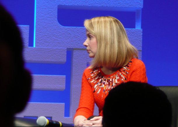 Google's Marissa Mayer being interviewed at LeWeb