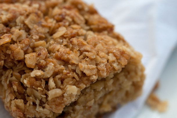 Eating a flapjack: Writing interesting status updates is not always a piece of cake