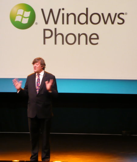 Stephen Fry: Praising Microsoft for changing its mobile ways