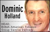Dominic Holand, BAT GSD head