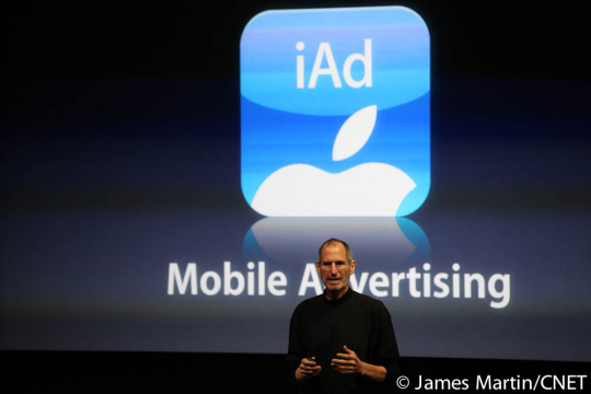 Apple iAd advertising system is coming to Europe