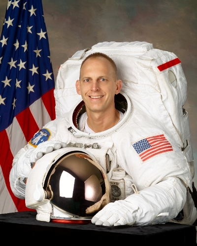 Astronaut Clayton Anderson spent five months on board the International Space Station in 2007