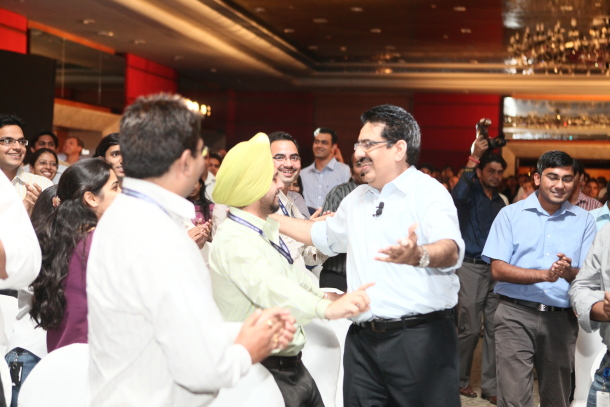 Vineet Nayar at HCL's Directions event