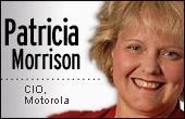 Patricia Morrison, Motorola CIO