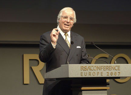 Frank Abagnale RSA Conference Europe 2007