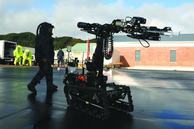 NZ Defence robot