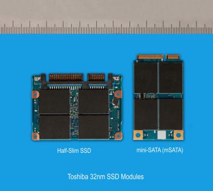 Toshiba SSDs