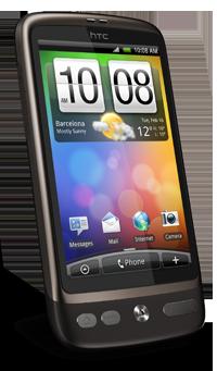 Telstra HTC Desire