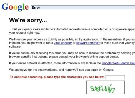 Google malware alert over Michael Jackson's death