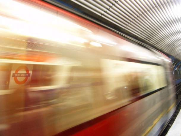 Tube train: Mobile coverage could go Underground
