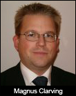 Magnus Clarving, manager of corporate and agent systems, SAS