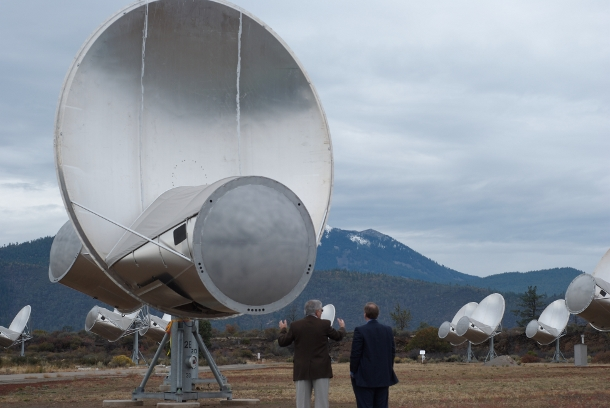 search for extra-terrestrial intelligence: Allen Telescope Array that is used by the Seti Institute