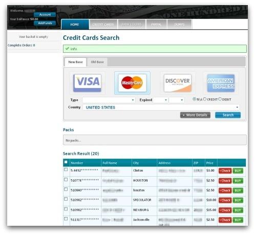 Fake e-commerce site
