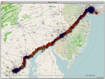 iPhone tracking Apple