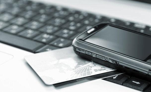 mobile laptop credit card