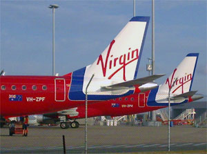 Virgin Blue plane