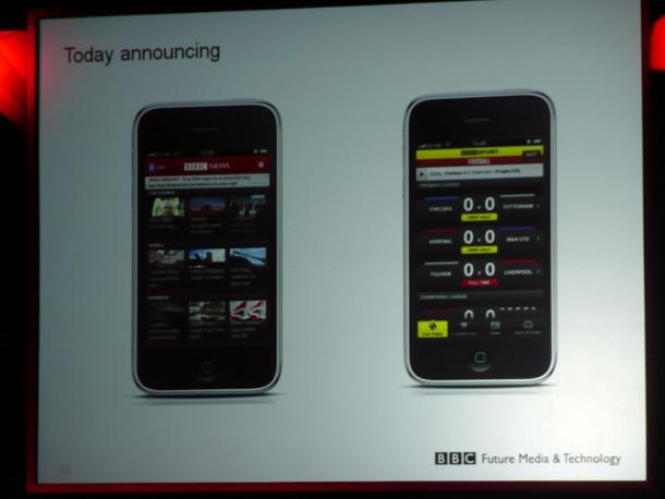 BBC iPhone apps