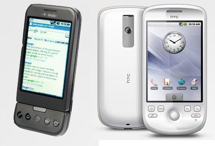 HTC Dream and Magic