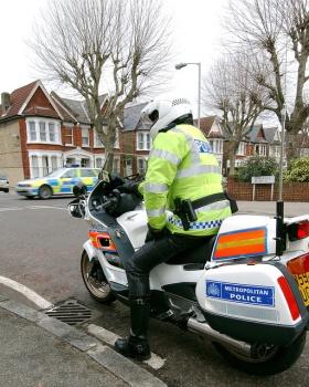 Met Police bike