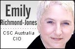 Emily Richmond-Jones, CSC Australia CIO