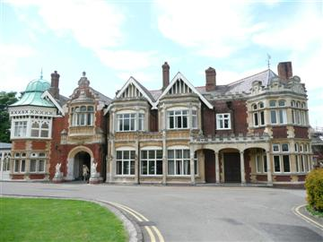 Mathematician and cryptographer Alan Turing's work was vital to Bletchley Park's efforts in WWII