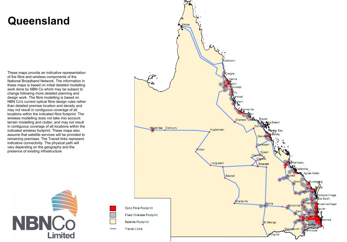 NSW QLD map
