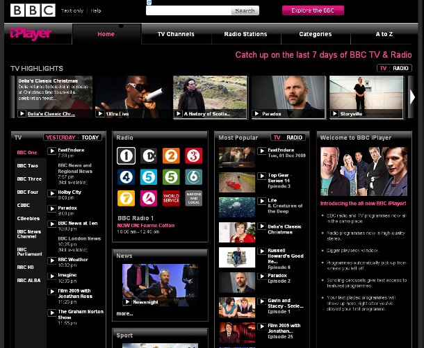 iPlayer shows the impact of BBC technology