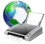 Printing over the Internet, directly to your boss or professor's desk.