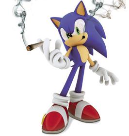 Smoking Sonic