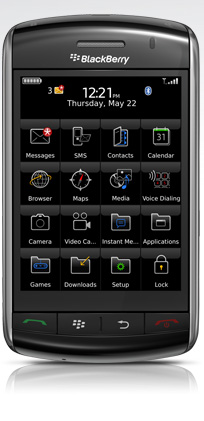 RIM announces BlackBerry StoreFront coming to devices in March 2009