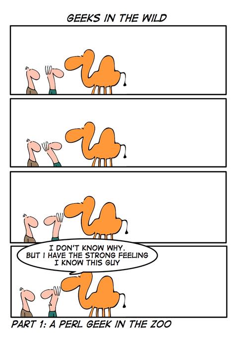Geeks in the wild [cartoon]