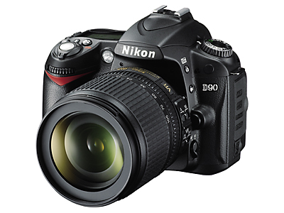 Just-announced Nikon D90 vs. just-reduced Canon EOS 40D