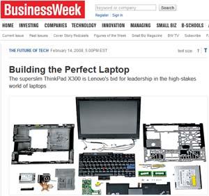 Lenovo X300 is everywhere