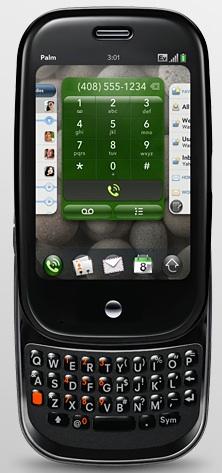 Palm Pre open keyboard