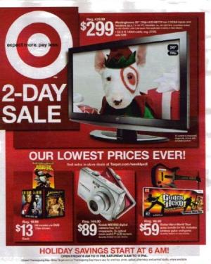 Black Friday 2008: Target