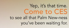 Is Palm's upcoming New-ness CES event related to the Nova OS?