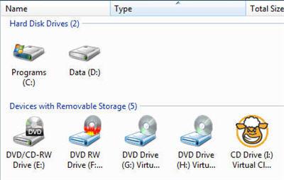 Virtual CD