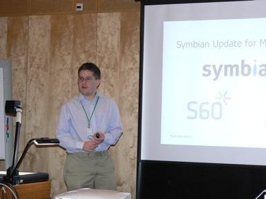 Rafe Blandford and Symbian