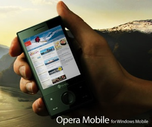 Opera Mobile 9.5 beta now available for WM touch screen devices
